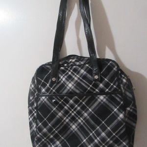 Thirty One Large Tote in Perfect Plaid